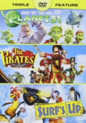 Planet 51 : the pirates! band of misfits, and Surf's up.