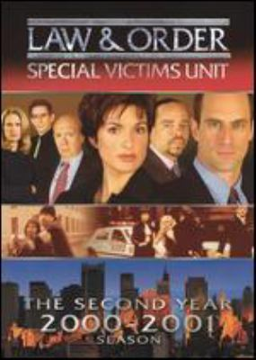Law & order. Special Victims Unit. The second year, 2000-2001 season
