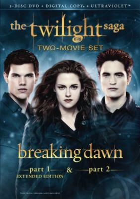 The twilight saga. Breaking dawn : two-movie set