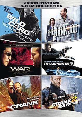 Jason Statham 6-film collection : Wild card ; The bank job ; War ; Transporter 3 ; Crank ; Crank 2, high voltage