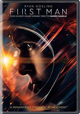 First man / Universal Pictures presents a Damien Chazelle film ; produced by Nick Godfrey, Marty Bowen, Isaac Klausner, Damien Chazelle ; screenplay by Josh Singer ; directed by Damien Chazelle.