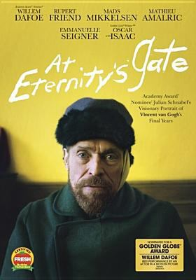 At eternity's gate / CBS Films presents ; Riverstone Pictures/SPK Pictures/Rocket Science present ; a Rahway Road/Iconoclast production ; produced by Jon Kilik ; written by Jean-Claude Carrière, Julian Schnabel, Louise Kugelberg ; directed by Julian Schnabel.