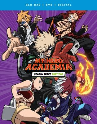 My hero Academia. Season three part two