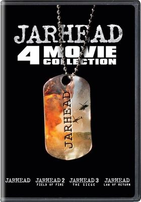 Jarhead 4 movie collection : Jarhead ; Jarhead 2, field of fire ; Jarhead 3, the siege ; Jarhead, law of return.