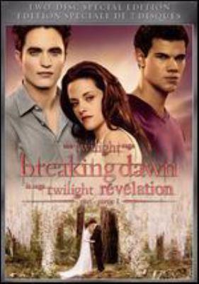 The twilight saga. Breaking dawn. Part 1 = La saga twilight. Révélation. Partie 1