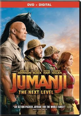 Jumanji : the next level / Columbia Pictures presents ; a Matt Tolmach, Seven Bucks, Detective Agency production ; directed by Jake Kasdan ; written by Jake Kasdan & Jeff Pinkner & Scott Rosenberg ; produced by Matt Tolmach, Jake Kasdan, Dwayne Johnson, Dany Garcia, Hiram Garcia.
