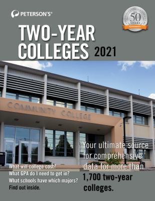 Peterson's two-year colleges 2021.