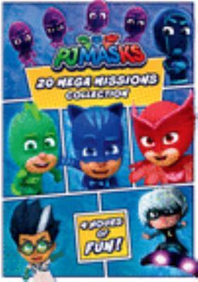PJ masks : 20 mega missions collection.