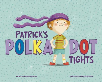 Patrick's polka-dot tights