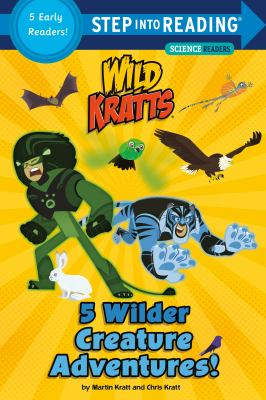 5 wilder creature adventures! : a collection of five early readers
