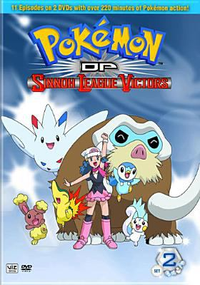 Pokemon DP. Sinnoh league victors. Set 2, episodes 12-22.