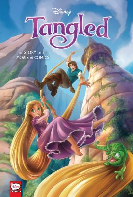Tangled : the story of the movie in comics