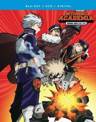 My hero academia. Season four. Part two
