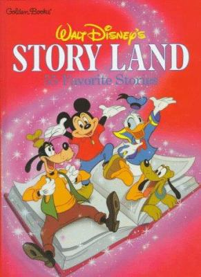 Walt Disney's story land; 55 favorite stories adapted from Walt Disney films.