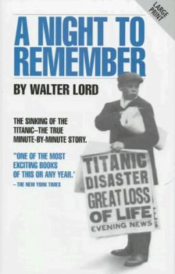 A night to remember / Walter Lord.