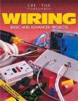 Wiring : basic and advanced projects  Cover Image