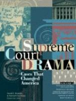 Supreme Court drama : cases that changed America  Cover Image