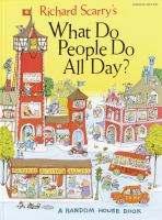 Richard Scarry's What do people do all day? Book cover