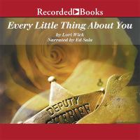 Every little thing about you Cover Image