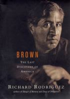 Brown : the last discovery of America  Cover Image