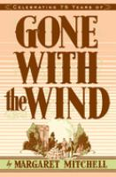 Gone with the wind Book cover