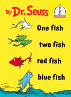 One fish, two fish, red fish, blue fish Book cover