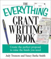 The everything grant writing book Book cover