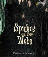 Spiders and their webs  Cover Image