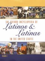 The Oxford encyclopedia of Latinos and Latinas in the United States  Cover Image