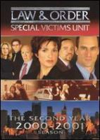 Law & order, special victims unit. The second year 2000-2001 season Cover Image