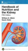 Handbook of nutrition and the kidney  Cover Image