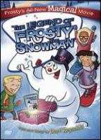 The legend of Frosty the Snowman Book cover