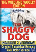 The shaggy dog  Cover Image