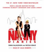 The nanny diaries Cover Image