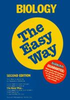 Biology the easy way Book cover