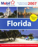 Florida 2007. Cover Image