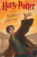 Harry Potter and the deathly hallows Book cover