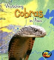 Go to record Watching cobras in Asia