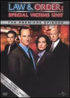 Law & order, special victims unit. The premiere episode Cover Image