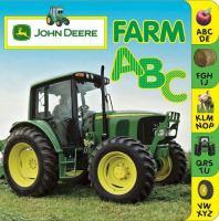 John Deere farm ABC. Book cover