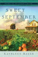 Sweet September Book cover