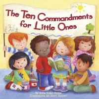 The ten commandments for little ones Book cover