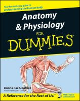 Anatomy & physiology for dummies  Cover Image