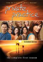 Private practice. The complete first season Cover Image