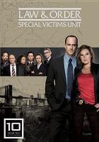 Law & order, special victims unit. Year 10 Cover Image