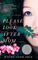 Please look after mom : a novel Book cover