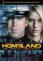 Homeland. The complete first season Cover Image