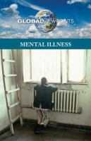 Mental illness  Cover Image