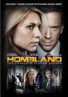 Homeland. The complete second season  Cover Image
