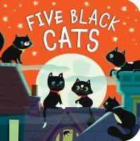 Five black cats Book cover